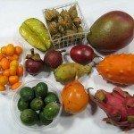 Экзотические фрукты и овощи