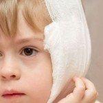 Согревающий компресс ребёнку при отите