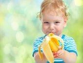банан и ребёнок
