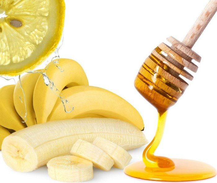 Мёд с бананом