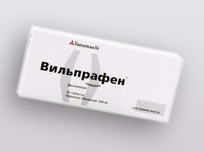 вильпрафен в таблетках
