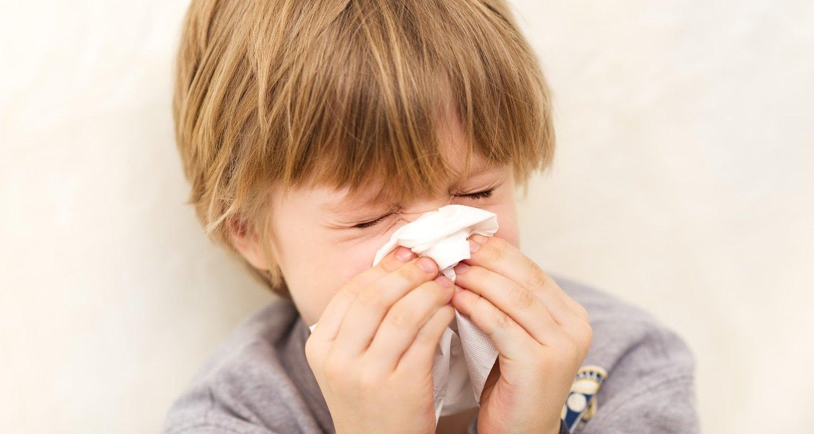 Бытовая аллергия у детей и методы борьбы с ней