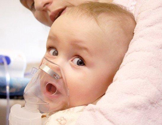 ингаляция младенцу