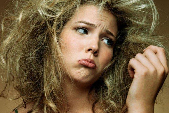 Девушка с плохими волосами