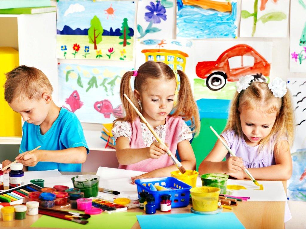 Детское художество: как сделать этот процесс забавнее?