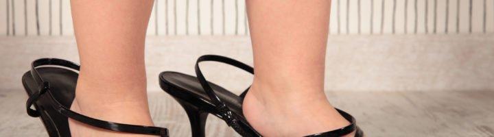 girl and heels