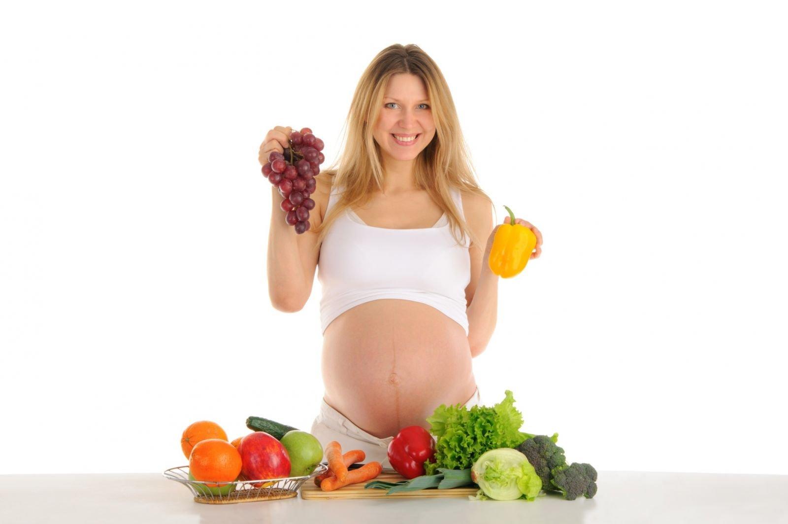 Кальций в организме беременной женщины.