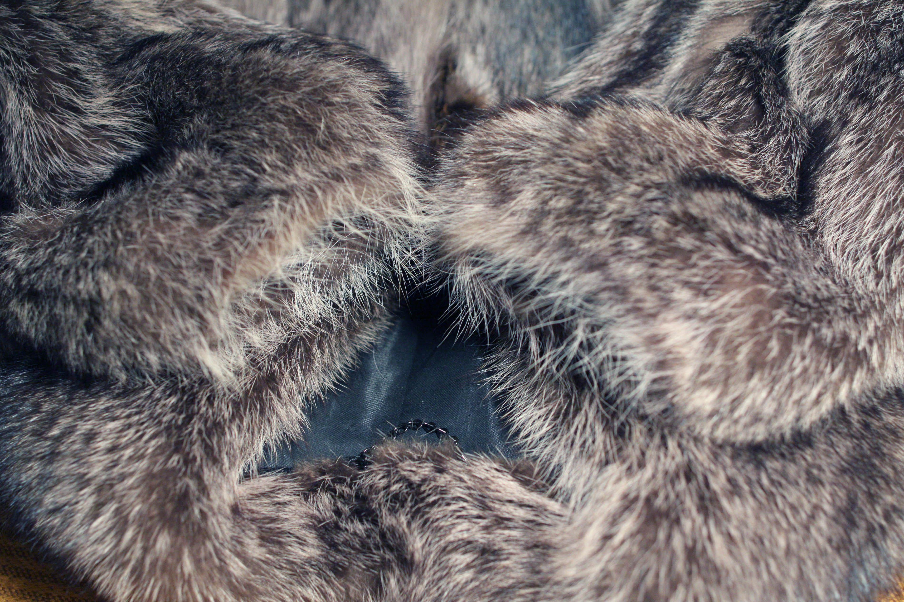 Шуба из енота — шикарно и роскошно