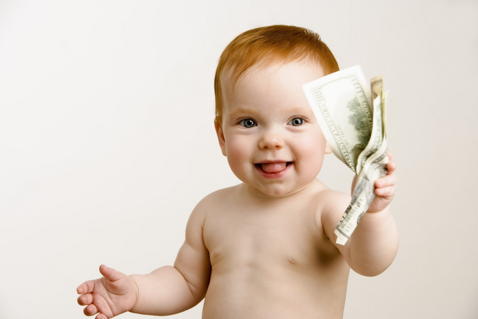 Бумажные воспитатели или как деньги могут повлиять на детское воспитание.