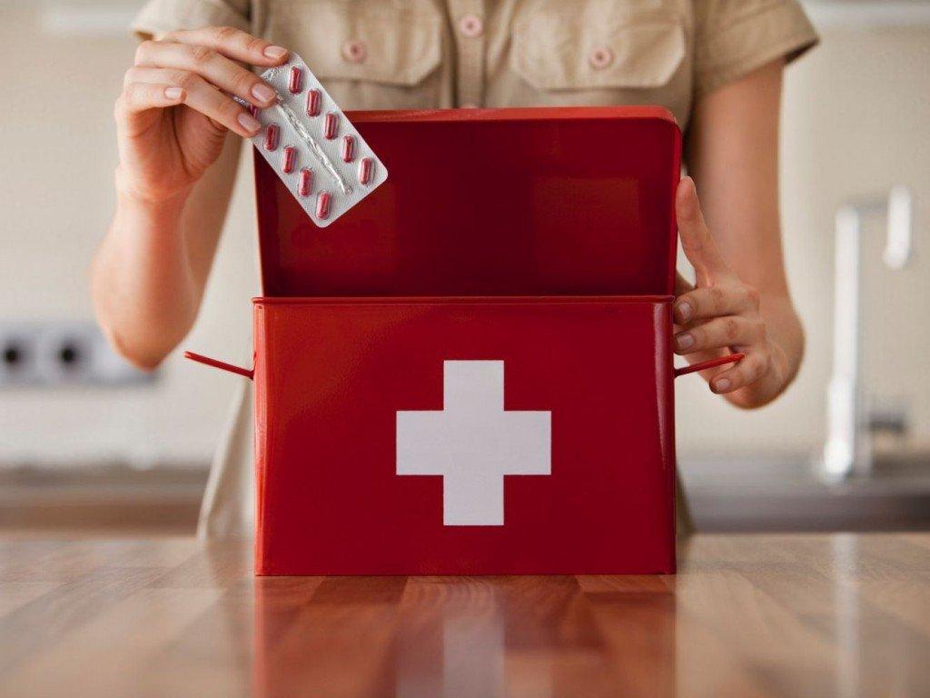 Аптечка женщины в положении: самые необходимые лекарства.