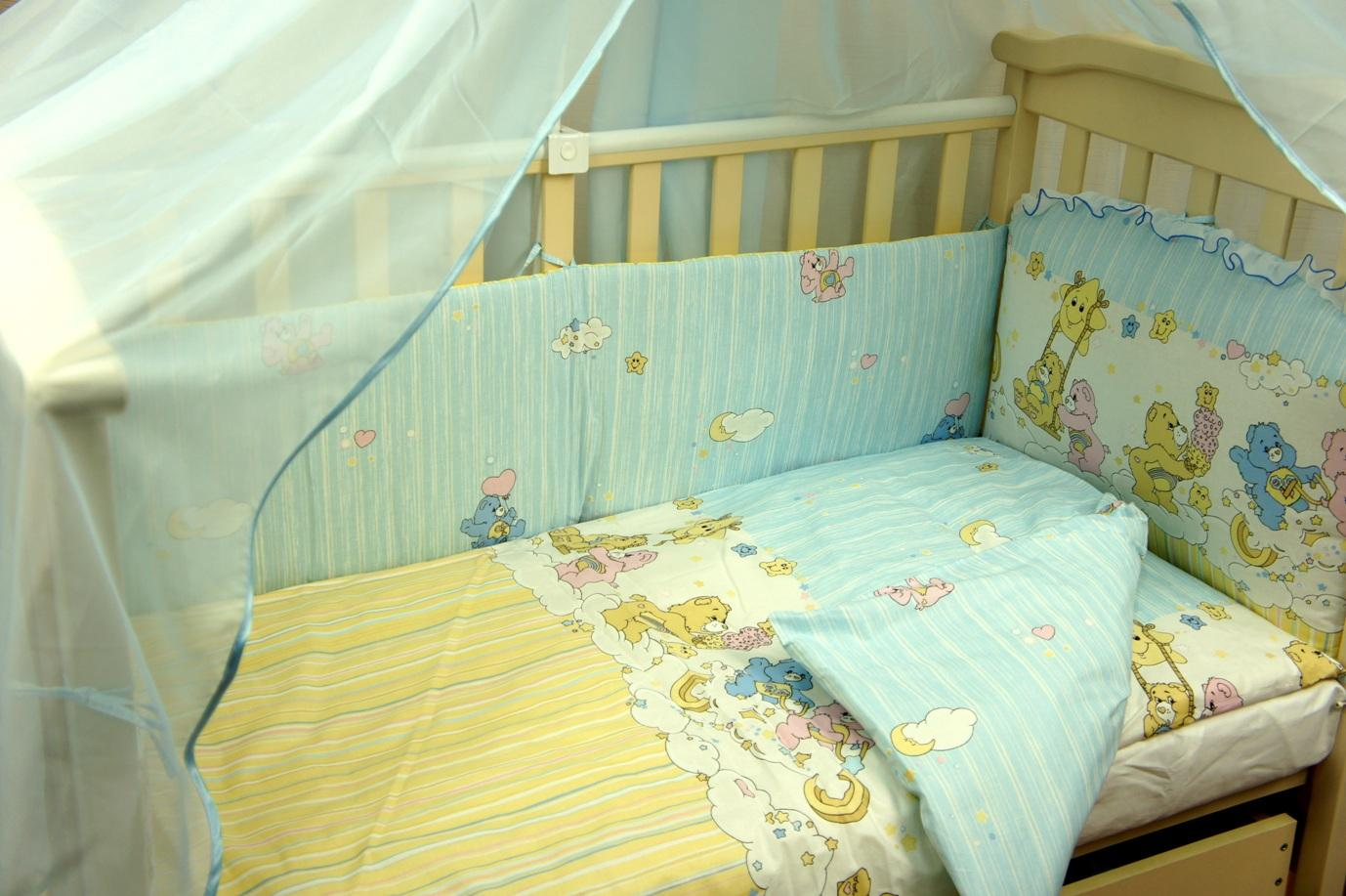 Как выбрать постельное белье для младенца?