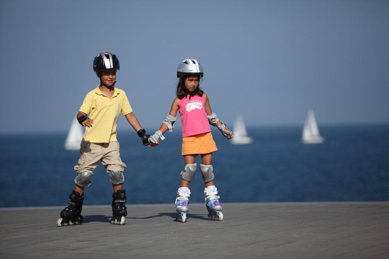 Как выбрать роликовые коньки для ребёнка?