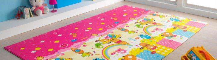 Детские ковры из синтетических материалов