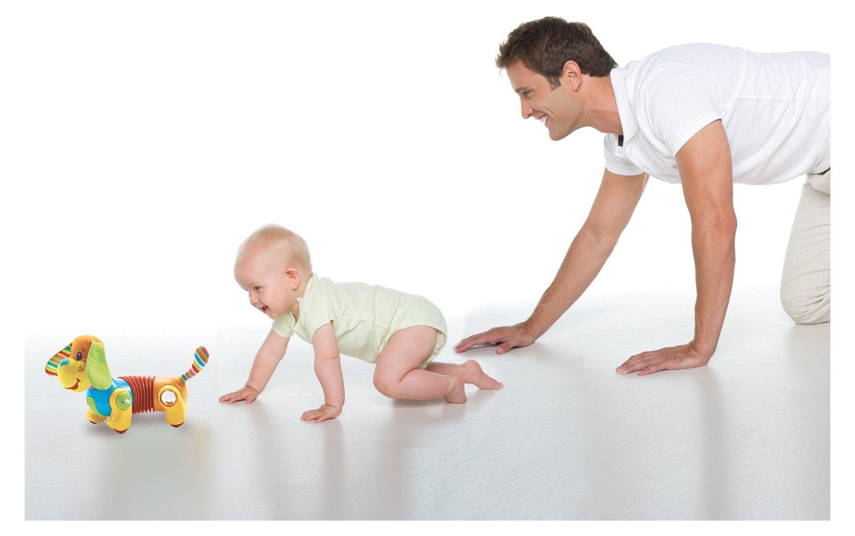 Влияние движения на интеллект ребенка. Как научить ребенка ползать.