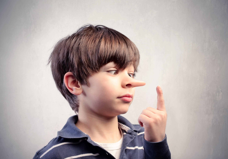 Обман из уст ребенка.