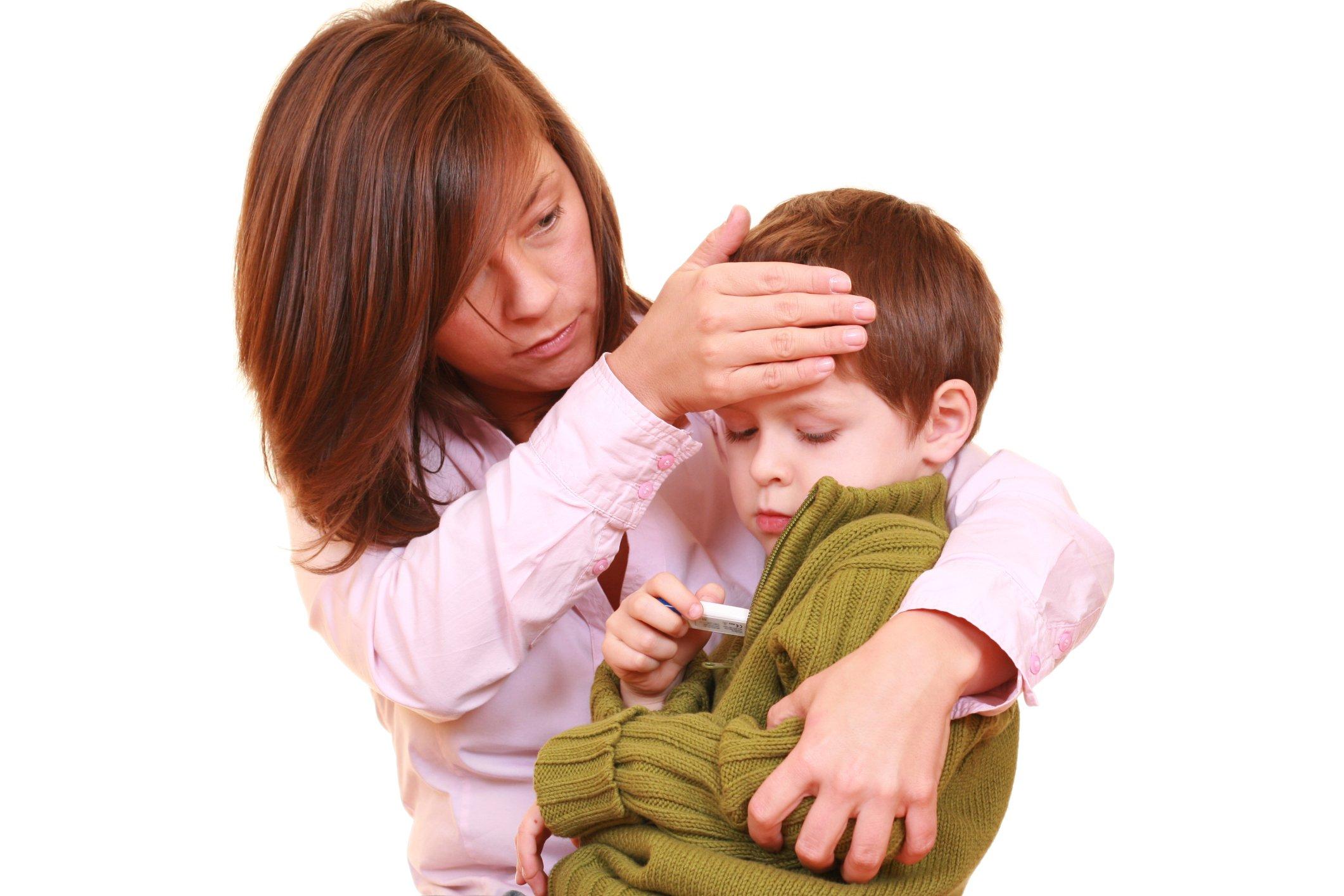 Фебрильные судороги: причины возникновения и терапия.