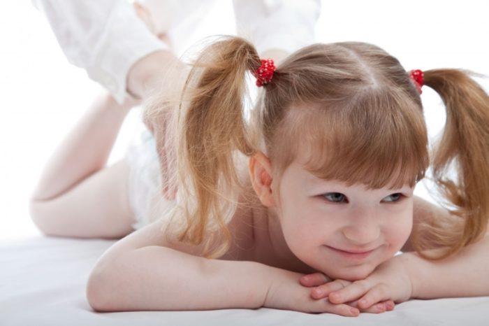 лечебный массаж ребёнка