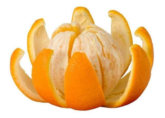 апельсин очищенный