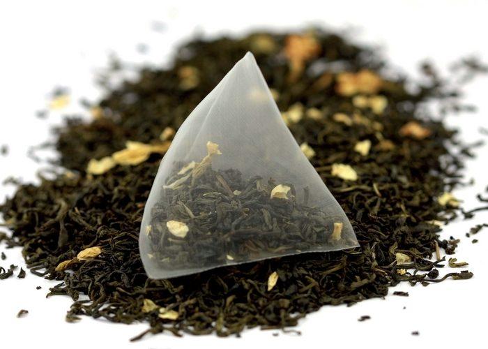 чай с цедрой в фильтр-пакете