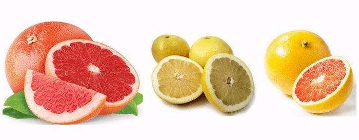 сорта грейпфрутов