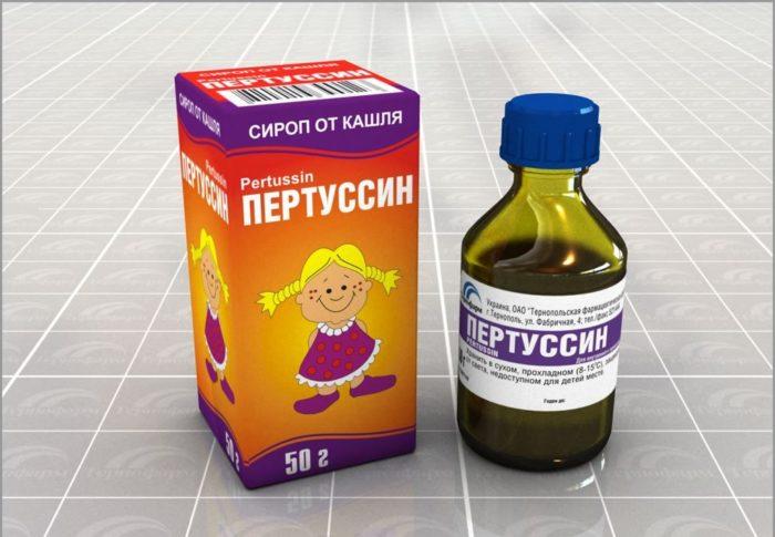 сироп от кашля Пертуссин