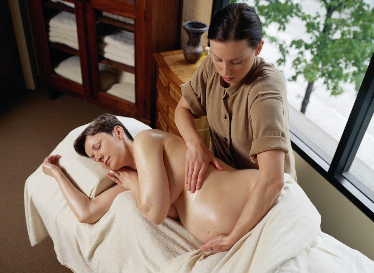 беременной массаж