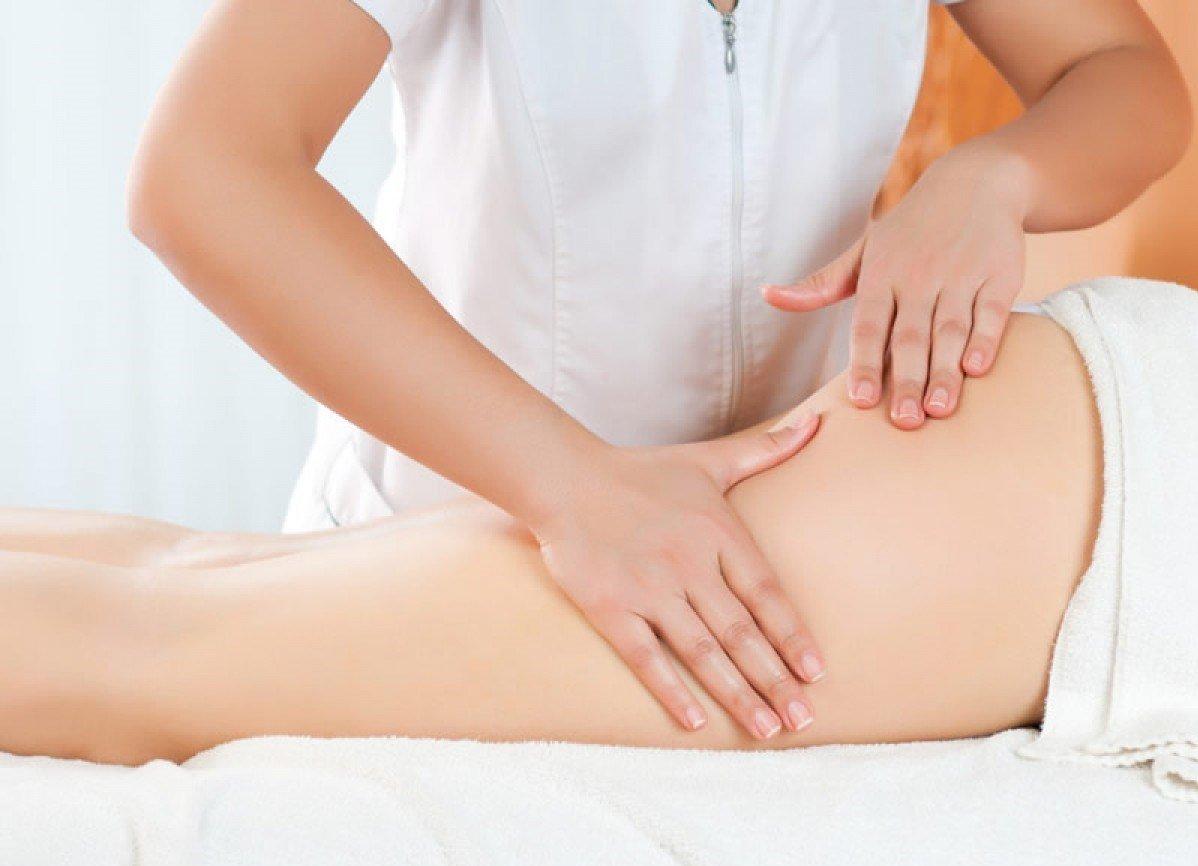 антицеллюлитный массаж при месячных