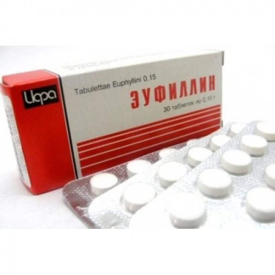 Эуфиллин внутривенно инструкция по применению.