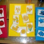 Карточки Монтессори для изучения цветов