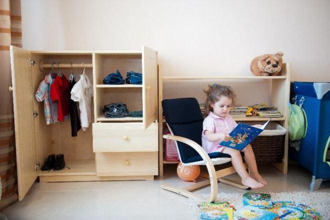 Комната ребёнка по Монтессори