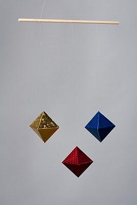 Мобиль из октаэдров