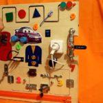 Модуль Монтессори с замками и задвижками