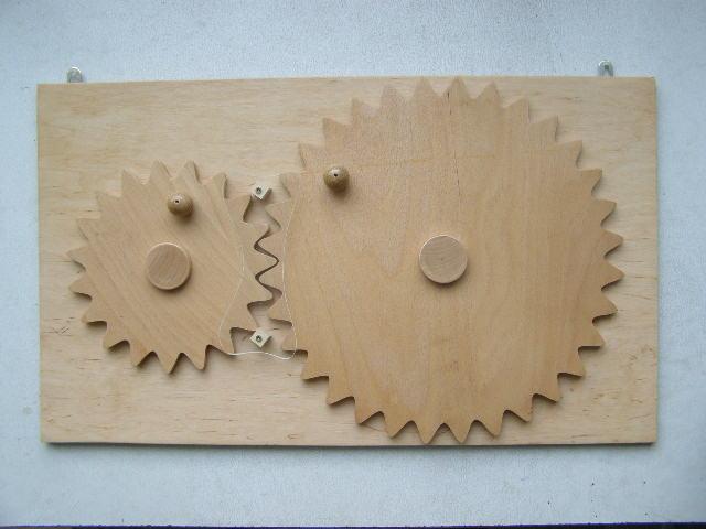 Модуль с зубчатыми колёсами