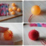 Обмотка шарика для пинг-понга