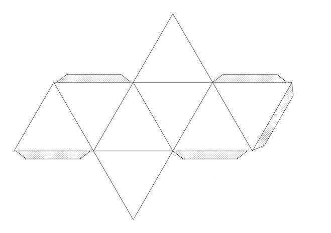 Схема октаэдра