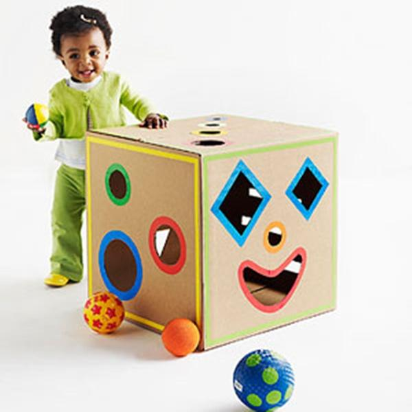 Картонные коробки своими руками для детей