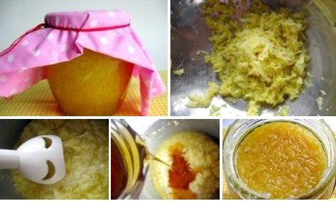 Имбирная смесь с мёдом и лимоном