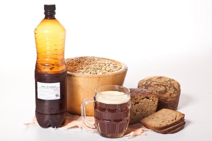 Хлебный квас домашнего производства