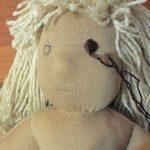 Лицо вальдорфской куклы