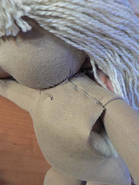 Сшивание плеч