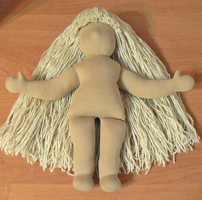 Тело вальдорфской куклы