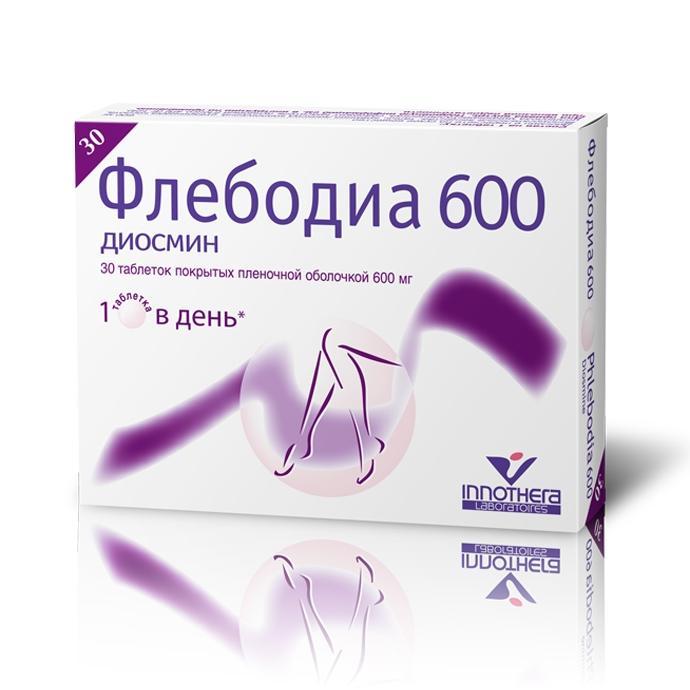 Флебодиа 600: состав, инструкция по применению при геморрое и варикозе, как принимать таблетки при беременности, аннотация препарата Флебодиа 600