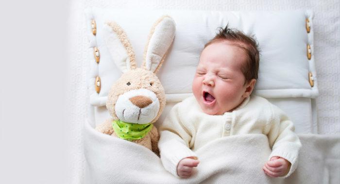 Новорождённый не спит ночью