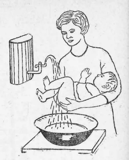 Уход за новорождённой
