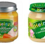 Рыбное пюре Heinz