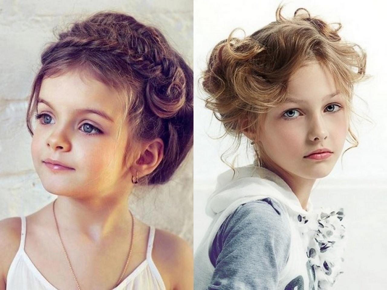 Модные детские стрижки для девочек разных возрастов