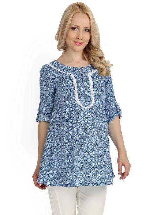 беременность мода туника