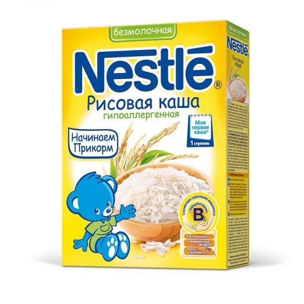 Безмолочная рисовая каша для грудничка