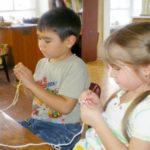 Дети вяжут крючком