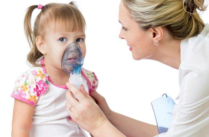 Ингаляция небулайзером ребёнку